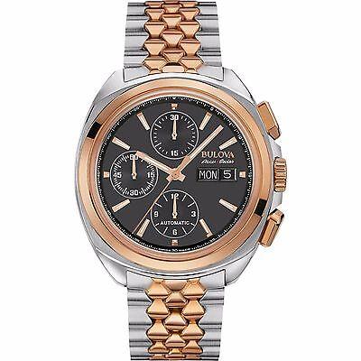 Bulova Accutron Men's 65B168 Accu Swiss Chronograph Automatic Dress Watch