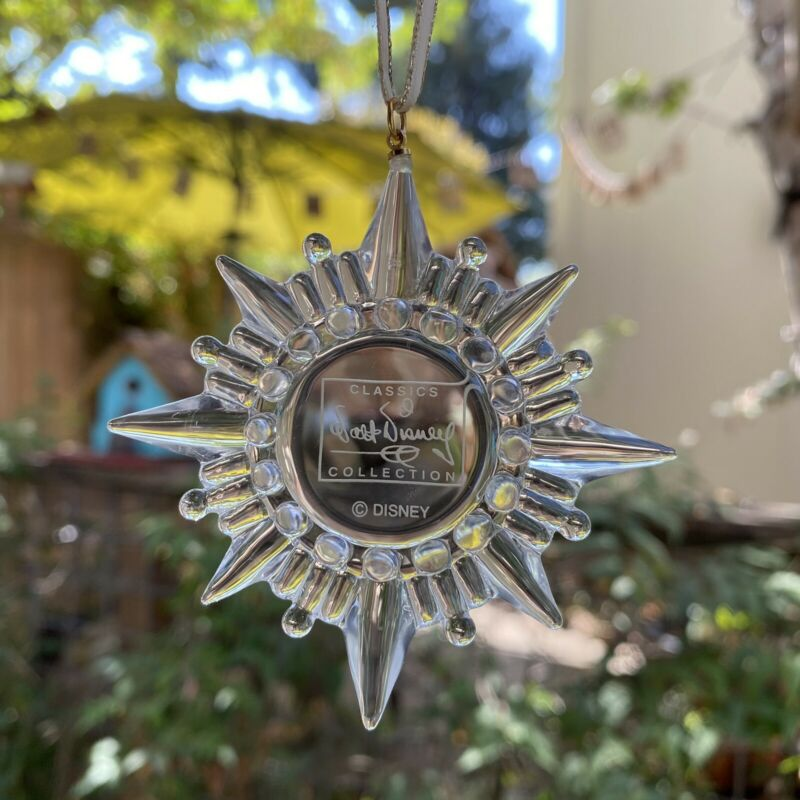ARRIBAS BROS WALT DISNEY JIMINY CRICKET WISHING STAR GLASS BLOWN ORNAMENT