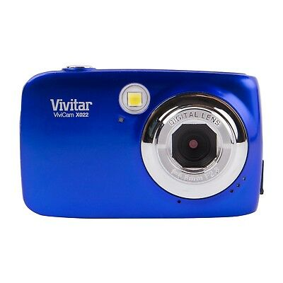 Vivitar ViviCam X022 10.1MP Digital Camera - Dark blue Digital Blue Vivitar Vivicam