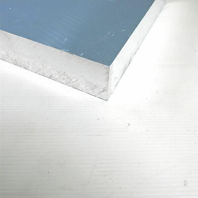"""2/"""" thick Precision CAST Aluminum PLATE 3/"""" x 7.375/"""" Long sku 175982"""