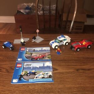 Lego City - Police Chase Set 3648 EUC