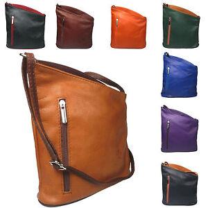 soft italian leather cross body messenger ladies leather