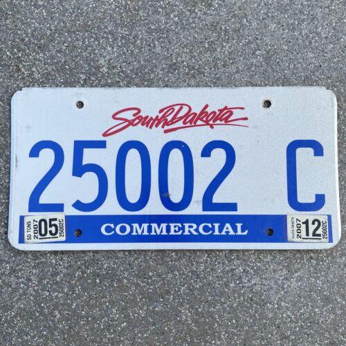 Original US Auto Kennzeichen Nummernschild USA South Dakota Commercial