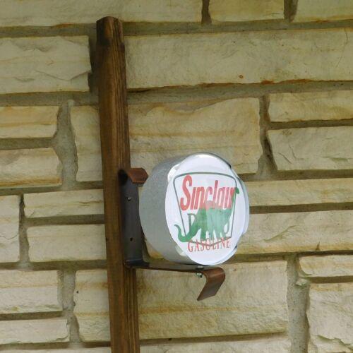Sinclair Dino Gasoline Gas Station logo miniature wall post service Sign USA
