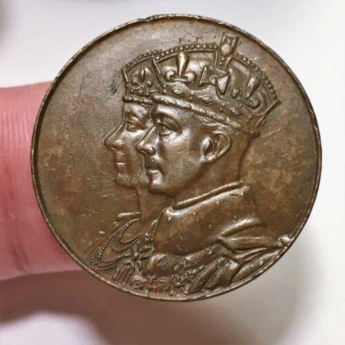 1939 Canada Royal Visit Medal - Bronze - 26 mm - Lustre
