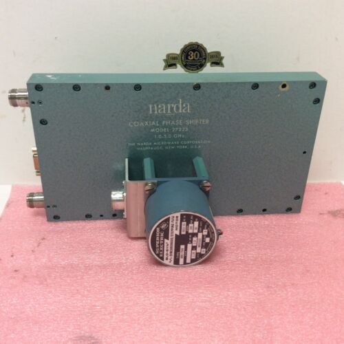 Narda Coaxial Phase Shifter model 27223 1.0 - 5.0 GHz Lockheed Martin Microwave