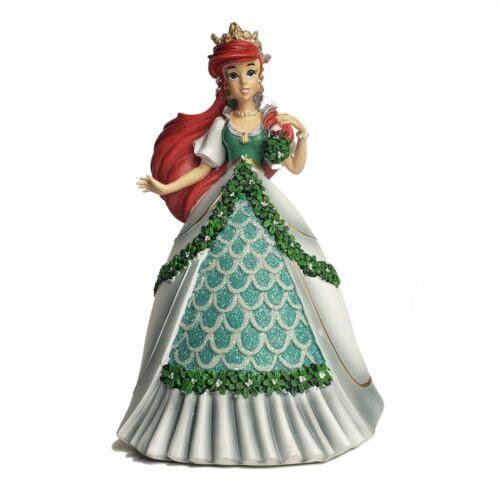 Bradford Exchange Disney Ariel Little Mermaid Mistletoe Princess Figurine NIB