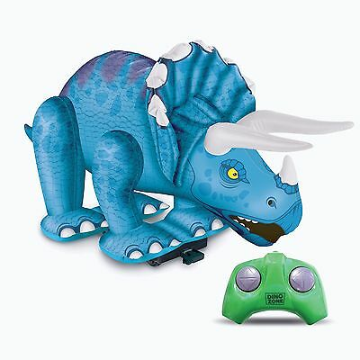 Remote Control Jumbo 3ft Inflatable Triceratops Dinosaur Radio Controlled R/C