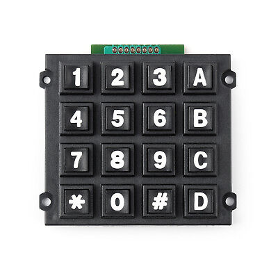 4 X 4 Matrix Array 16 Keys 44 Switch Keypad Big Keyboard Module For Arduino Ue