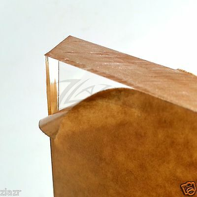 12 Thick 12 X 12 Clear Acrylic Sheet Slab Cast Plastic Plexiglass Square Usa