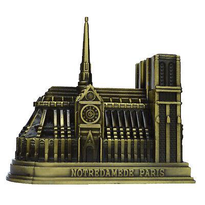Souvenirs of France - Notre-Dame de Paris Metal Statue Home Desk Decoration 3D](Souvenirs De Halloween)