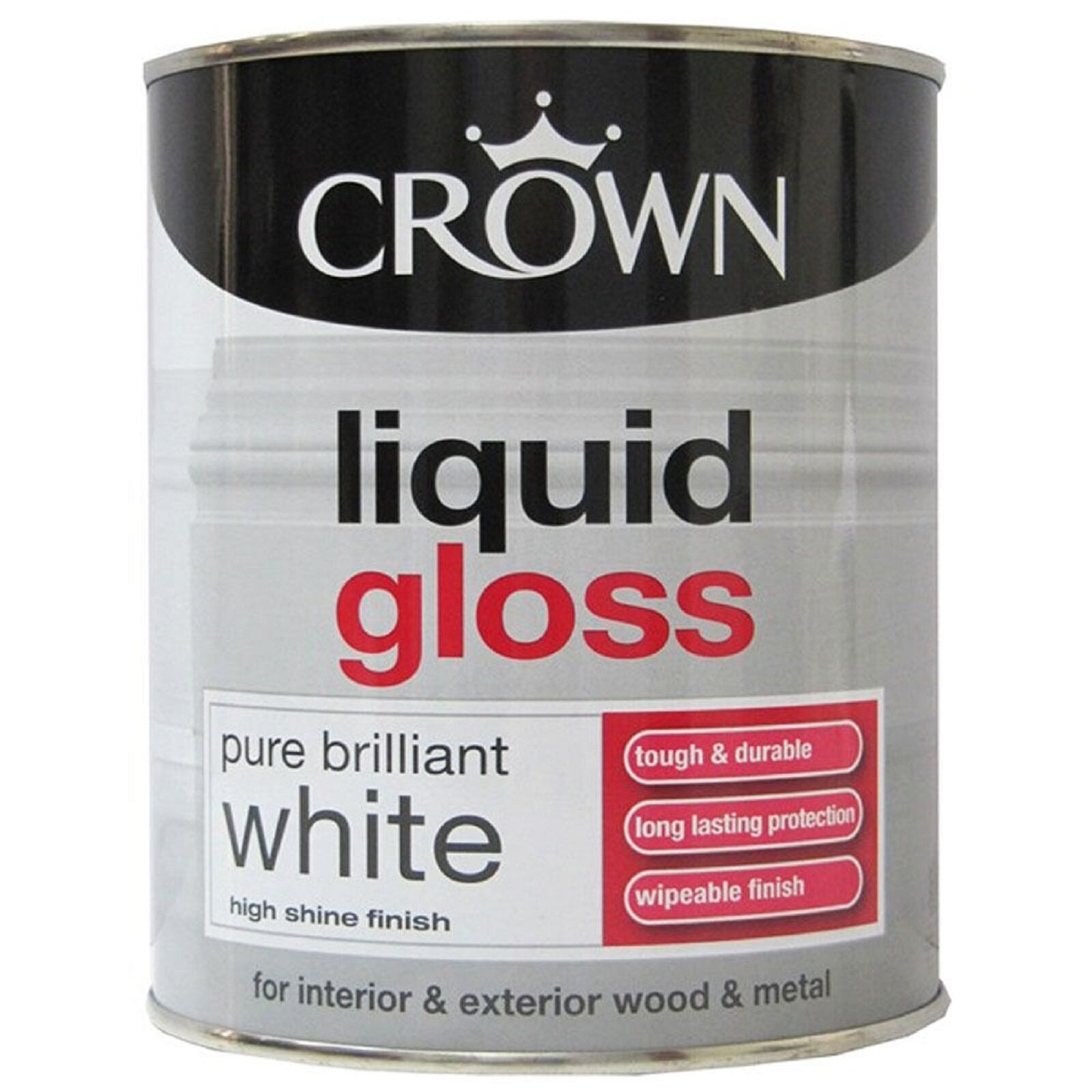 Liquid Gloss Paint Pure Brilliant White