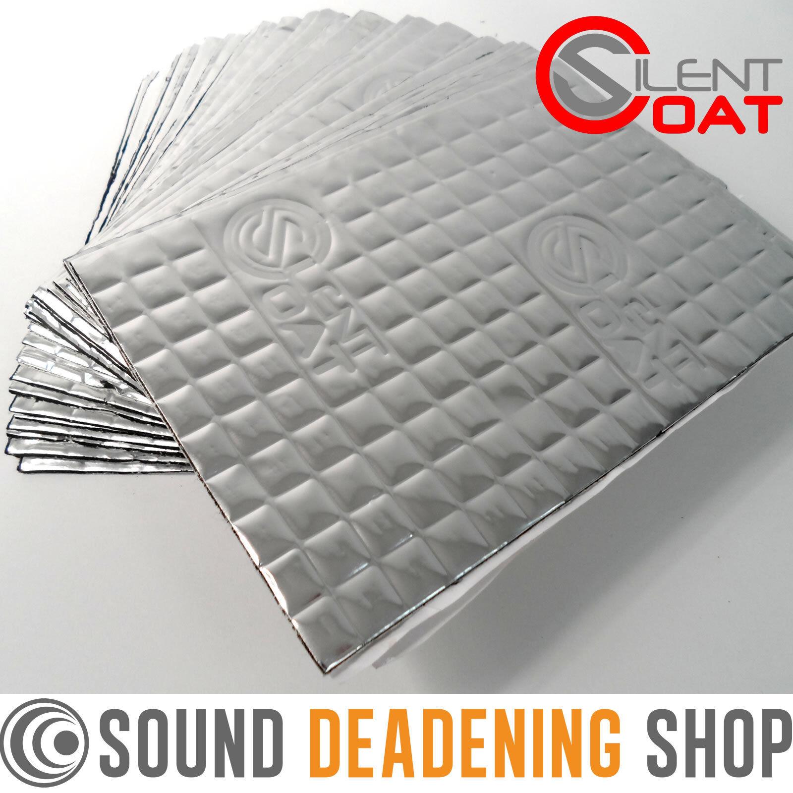 Silent Coat 2mm 30 Sheets Pack Car Van Deadening Sound
