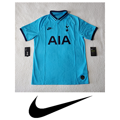 Nike Men S Tottenham Hot Spurs Third 3rd 2019 2020 Stadium Match Soccer Jersey Ebay