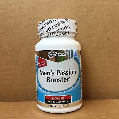 Vitacost Mens Passion Booster  With Tongkat Ali Extract  30 Capsules   Sale