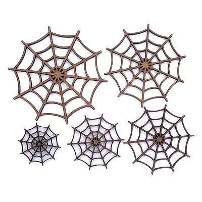 Spider Web Craft Shape. Various Sizes 30mm - 200mm. 2mm MDF. Halloween, scary