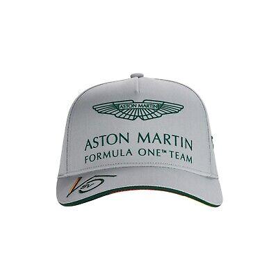 Aston Martin F1 2021 KIDS Sebastian Vettel Driver Hat Gray