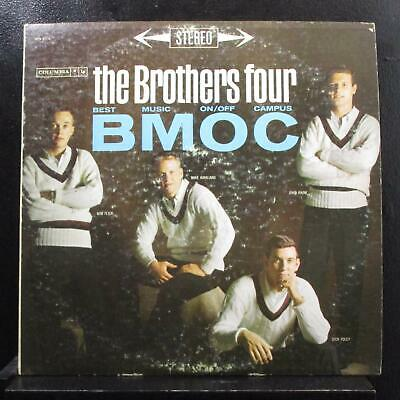 The Brothers Four - BMOC Best Music On/Off Campus LP VG+ CS 8378 Vinyl 360