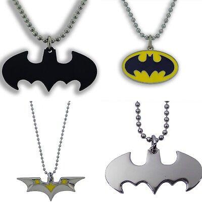Batman-logo Halloween (DC Comics Batman Logo Pendant Necklace Halloween Costume Adult  Metal Fashion)