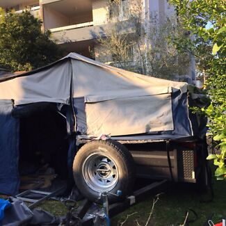 Camper trailer Mario 2 with all extras inc latex bed  Bondi Eastern Suburbs Preview