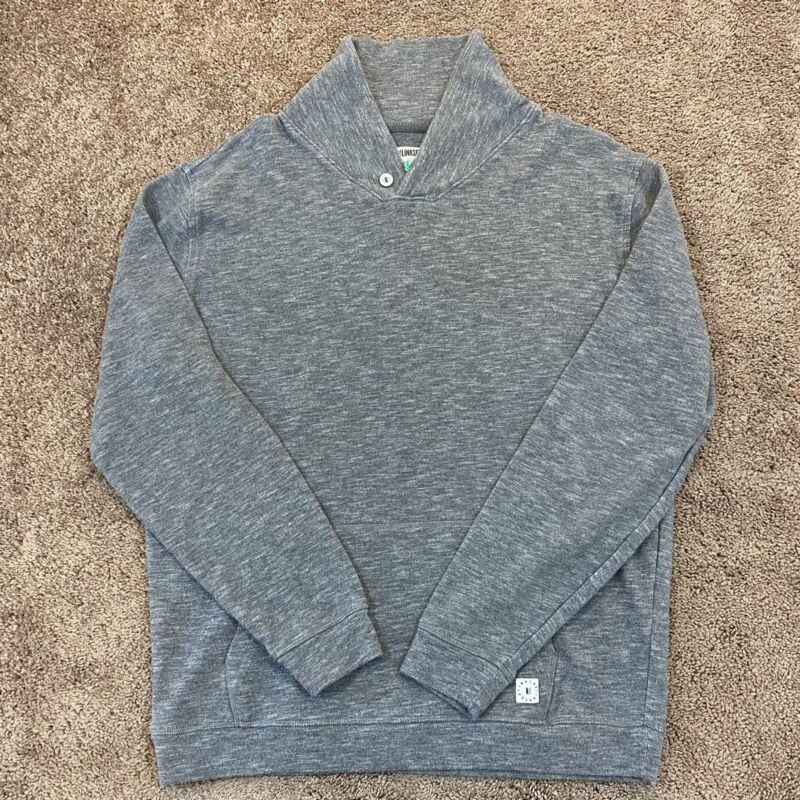 Linksoul Golf Grey Neck Jacket Men Size XL Button