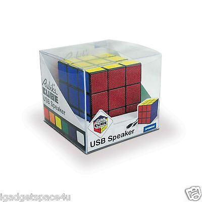 Spinninghat Retro Rubik's CUBE USB Powered Portable Speaker 5-watt