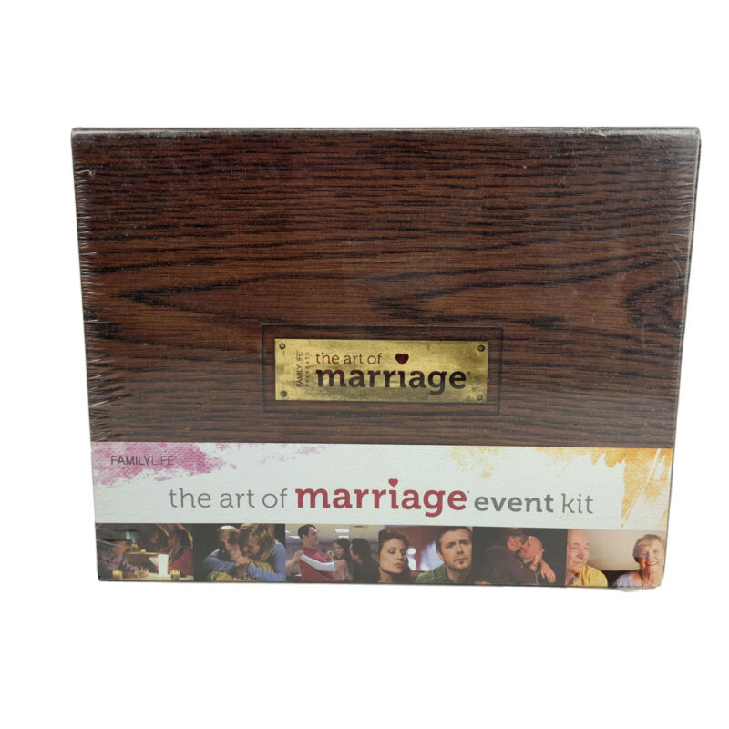"New Family Life Presents ""The Art of Marriage"" Event Kit Bible Group Study Guide"