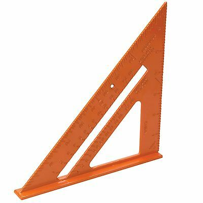 Aluminium Alloy Roofing Carpenters Square 185mm Marking Out Square