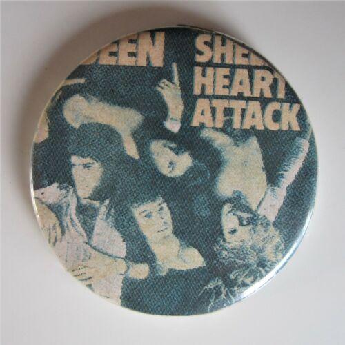 Queen : Vintage Sheer Heart Attack Album Metal Pin Badge