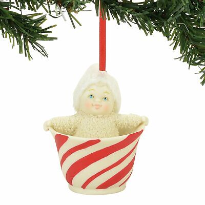 Department 56 Snowbabies Sweet Tea Ornament 4058464 Snowbaby Dept NEW