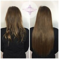 Quality Hair Extensions and professional installation from $300