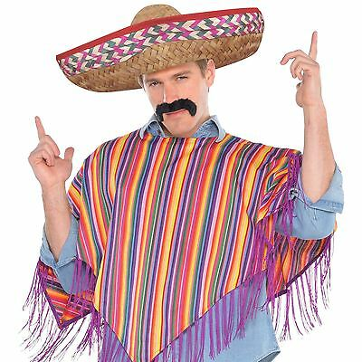 Mens Tequila Bandito Costume Adult Mexican Bandit Western Fancy Dress Outfit