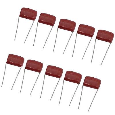 Us Stock 10pcs Cbb Cbb22 Metallized Film Capacitor 0.01uf 10nf 0.01mfd 103j 630v