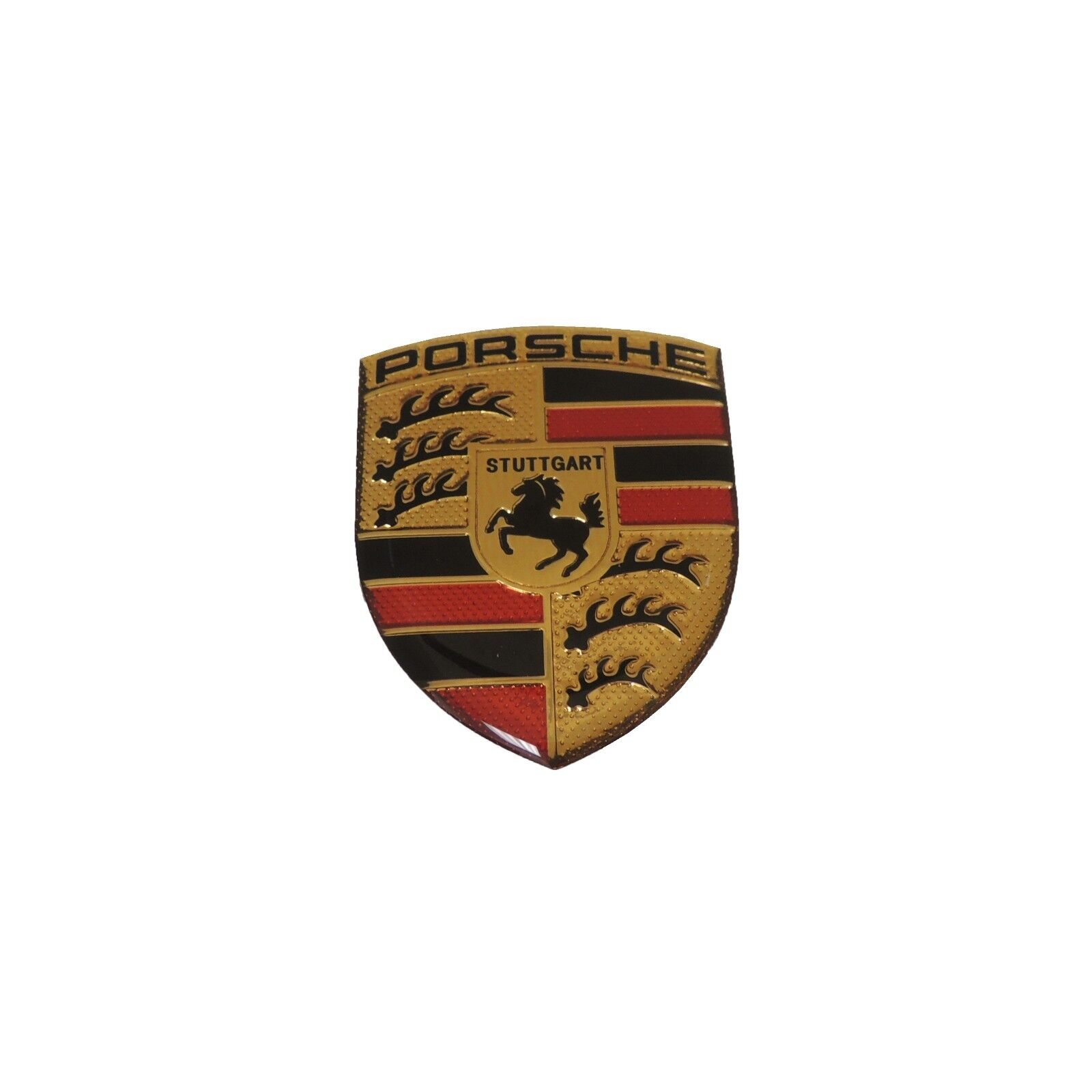 Details about porsche logo sticker for 1950 2019 porsche 356 911 912 930 964 993 hood
