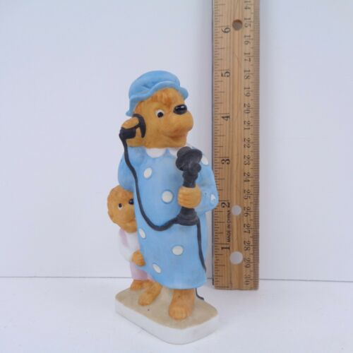 "1983 Ebeling & Reuss Berenstain Bears ""Hello Grizzly Gran"" Ceramic Figurine"