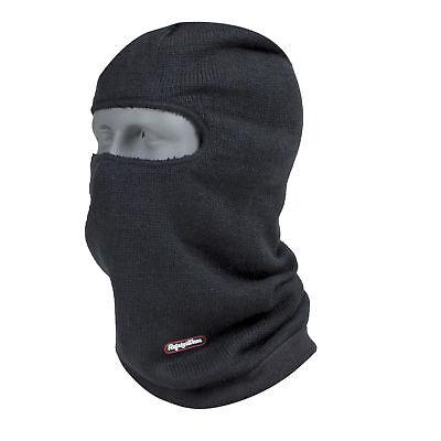 RefrigiWear Fleece Lined Double Layer Long Neck Open Hole Balaclava Face Mask
