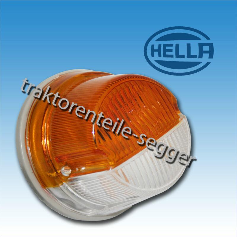 Hella Blink und Positionsleuchte IHC rund D219 D324 D326 D440 Traktor Schlepper  Foto 1