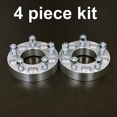 "4pc 1.25"" Adapter Spacers - allows 5x4.75 Cars to use 5x4.5 Wheels - 12x1.5 Stud"
