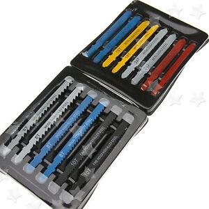 T-Shank Assorted Jigsaw Blade 14 Pieces Set 6/8/10/14/18/24/32 Teeth FOR BOSCH
