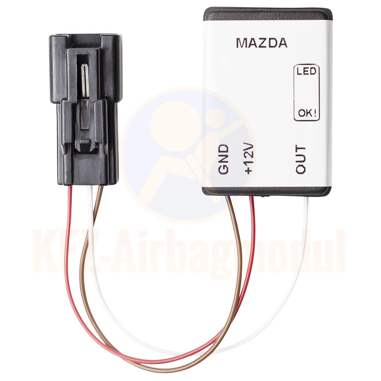 Mazda Seat Occupancy Detector Airbag Sensor Mats Leviton Phone Jack Wiring Diagram Http Wwwebaycom Itm Beifahrersitzerkennung Sbe Srs