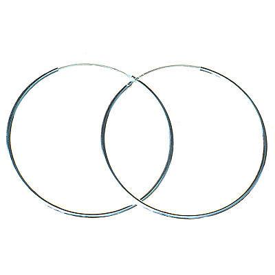 925 Sterling Silber Creolen runde große 1,5 mm Ohrringe Kreolen Bella Carina  online kaufen