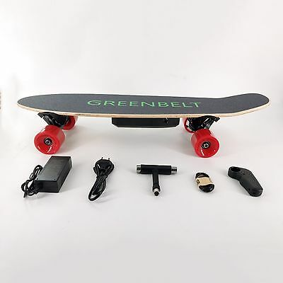 "29"" 7-Layer Maple Electric Skateboard with Remote Control & Charger"