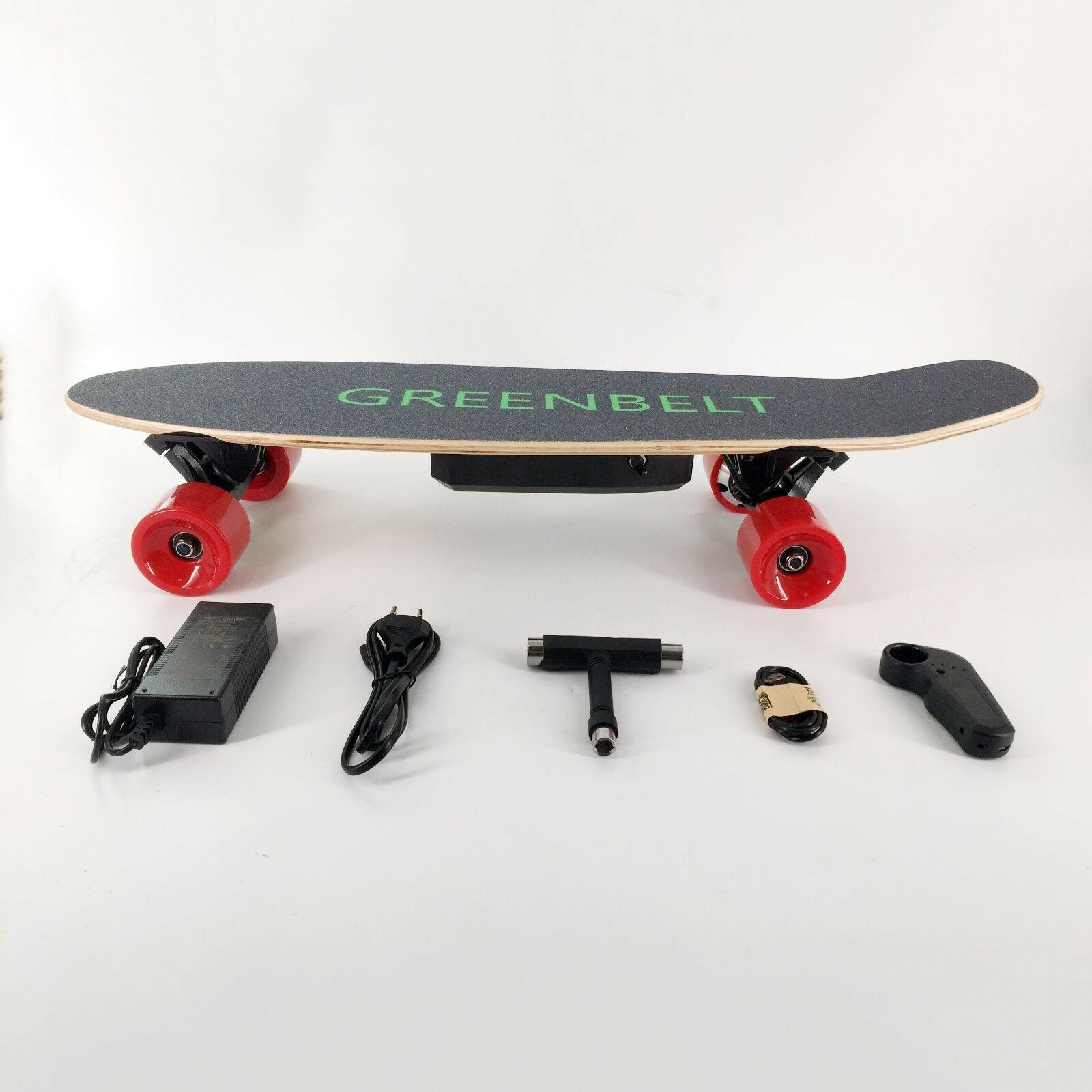 "29"" 7-Layer Maple Electric Skateboard with Remote Control &"