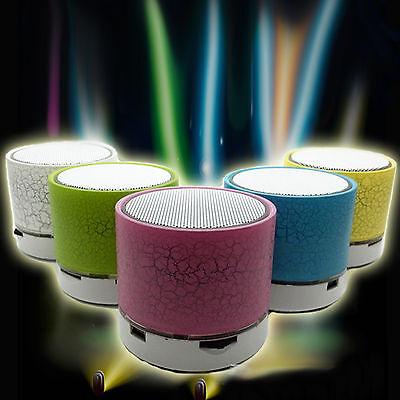 Best Bluetooth Wireless Speaker A9 TF USB LED Mini  Portable Music Sound