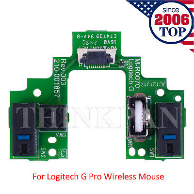 Mouse Switch Button Board Motherboard for Logitech G Pro Wireless Gaming Mouse