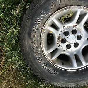 Dodge Dakota rims with tires
