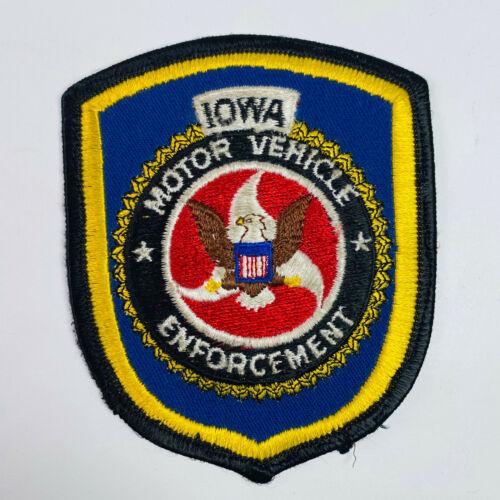 Iowa Motor Vehicle Enforcement Patch