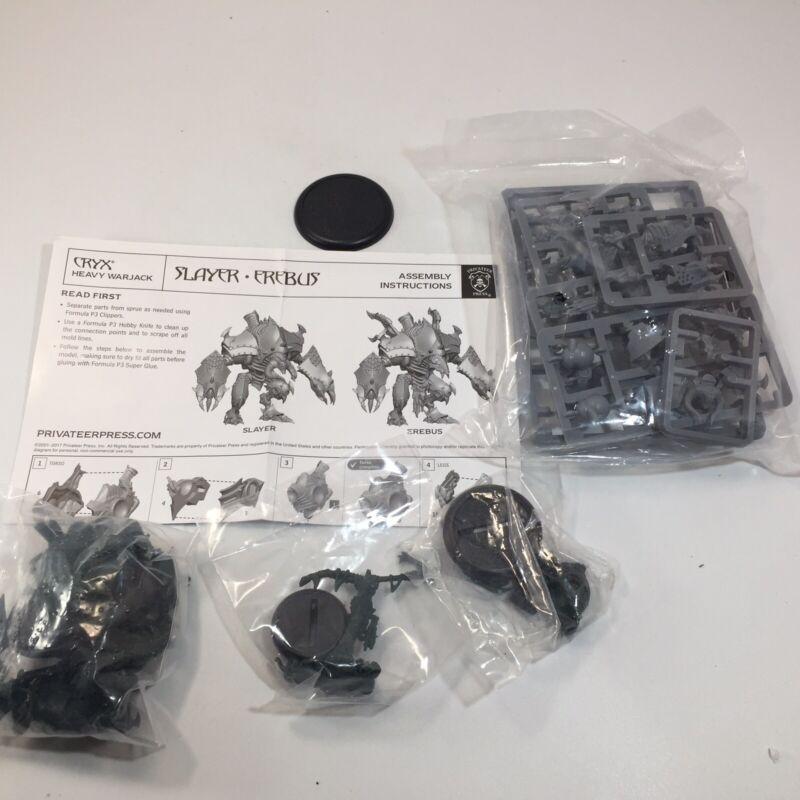 Warmachine Cryx Slayer Erebus Heavy Warjack PIP34124 Privateer Press