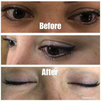 Semi permanent / Microblading Eyebrows tattoo.