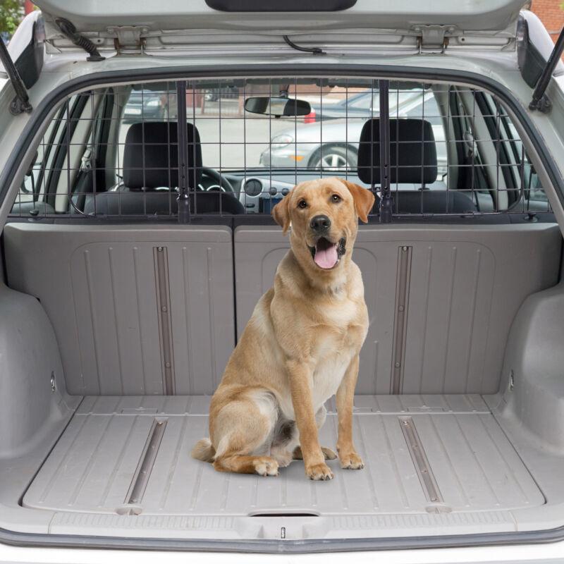 PawHut Schutzgitter Auto Universal Hundegitter Trenngitter verstellbar